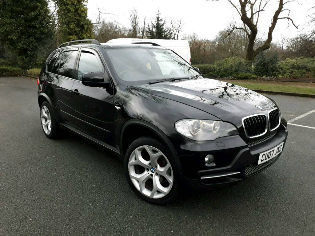 2007 bmw x5 3 0d individual 7 seaters sat nav metalic black in oldham manchester gumtree. Black Bedroom Furniture Sets. Home Design Ideas