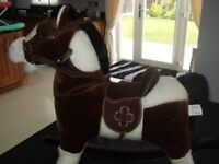 ROCKING HORSE - TO SUIT AGES 10 MONTHS PLUS.
