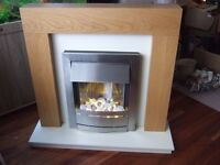 Modern Fire Surround and Electric Fire.
