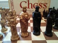 Battle of Hastings Chess Set & Board