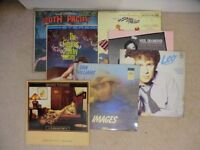 50+ Vintage Vinyl LPs of various pop and classical genres and artists