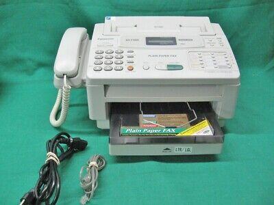Panasonic KX-F1000 Plain Paper Fax Works Great Tested and Guaranteed Item segunda mano  Embacar hacia Argentina