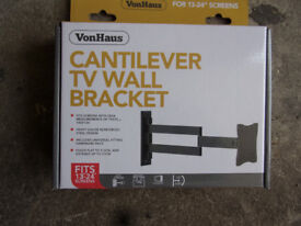 "TV wall bracket for 13""-24"" tv"