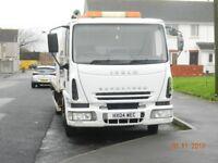 car light van large van recovery