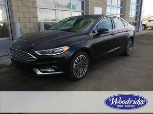 2017 Ford Fusion SE AWD, LEATHER, BACKUP CAM