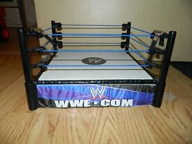 WWE Ring, 24 figures and toy belt