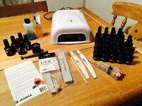 Geleration gel nail kit