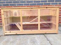 big wooden Hamster Cage, 115cmx60cmx58cm with accessories (optional)