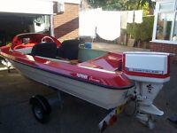 Fletcher arrow speed boat