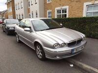 2002 JAGUAR X TYPE PETROL AUTOMATIC AUTO EXCELLENT DRIVE CHEAP CAR LUXURY SILVER NOT BMW 520 525