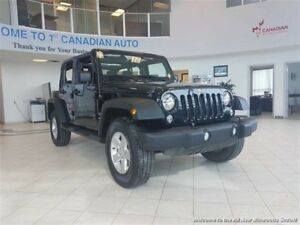 2015 Jeep Wrangler Unlimited Sport-ONE OWNER-ACCIDENT FREE