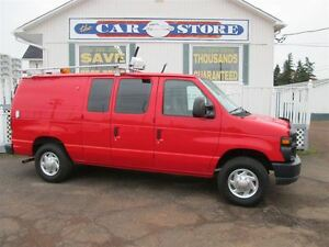 2010 Ford E-250 Commercial 4.6 L V8!! POWER FEATURES!! LADDER RA