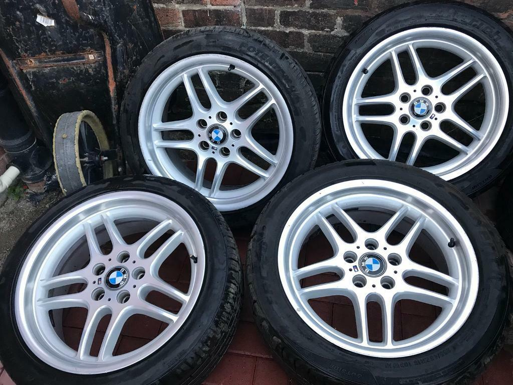Bmw M Parallel Style 37 Alloy Wheels E38 E34 E36 E46 Z3 Z4