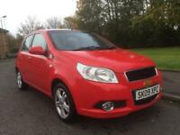 CHEVROLET AVEO , 49800 MILES , ONE OWNER , MOT APRIL 2018 , SERVICE HISTORY