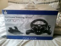 hurricane steering wheel ps3/ps4