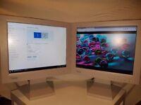 "**PRICE DROP** Two Fujitsu Siemens 431V-FA 17"" LCD pc/computer monitor"