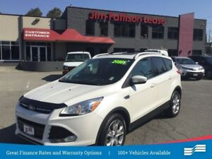 2015 Ford Escape Titanium w/Nav, Leather, Roof