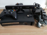 XBOX 360 Wireless Controller and Kinect