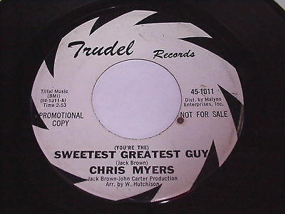 Chris Myers: Sweetest Greatest Guy / Fire Burns 45 - Northern Soul