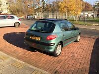 Peugeot 206 Automatic 5 Door Hatchback Low Mileage and Ac Excellent Runner