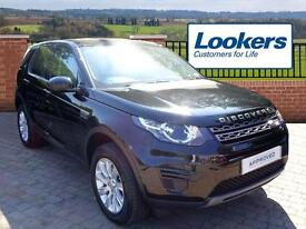 Land Rover Discovery Sport TD4 SE (black) 2015-11-20