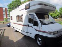 Swift Kontiki motorhome 1995 on a private reg with only 28172 miles on the clock.
