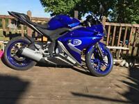 2014 Yamaha YZF R125 4K Miles FSH
