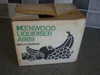 Blender - Kenwood Chef Food Mixer Attachment - Liquidiser/Blender A989 £10 ono