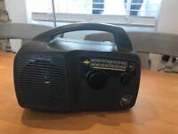Freeplay wind-up radio by Trevor Bayliss