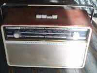 50s / 60s Ferranti radio, Good working order,
