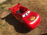 Lightning McQueen 6v ride on car faulty