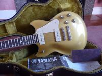 Yamaha SG 1802 ( As New & Handcrafted in Japan ) like 1956 R6 Gibson Les Paul Standard Goldtop P90s