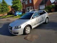 2006 AUDI A3 5DRS HATCHBACK 1.9LTRS DIESEL MANUAL £898 NO OFFERS NO SWAP CALL 074677409296 NO TEXT