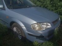 Mazda 323F 2002 breaking for parts service history good engine etc