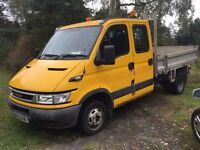 2006 iveco daily diesel crew cab tipper