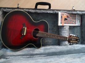 Crafter electro-acoustic mandolin