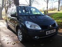 RENAULT GRAND SCENIC 1.5 dCi Dynamique 5dr finance Available ++ 7 SEATER FAMILY CAR NEW ENTRY 2008