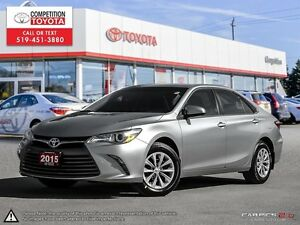 2015 Toyota Camry LE Toyota Certified, No Accidents
