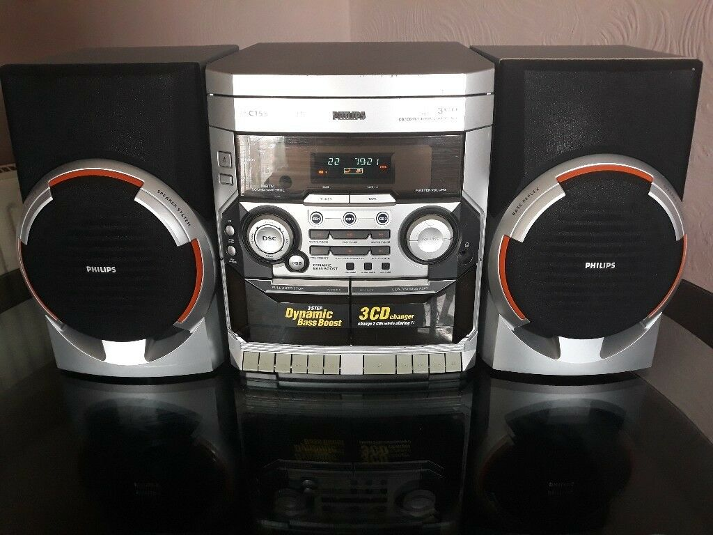 Philips 3 cd changer radio