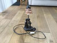 widdop-bingham bronze style table lamp.