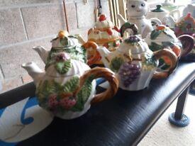 11 miniature teapots for sale