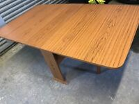 Folding table side board dining furniture