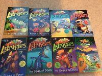8 Astrosaurs Books by Steve Cole
