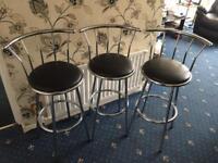 Set of bar stool's