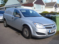 Vauxhall Astra Van Mk5 1.3 Diesel EcoFlex 2011 89000 Ply Lined Work Ready Silver