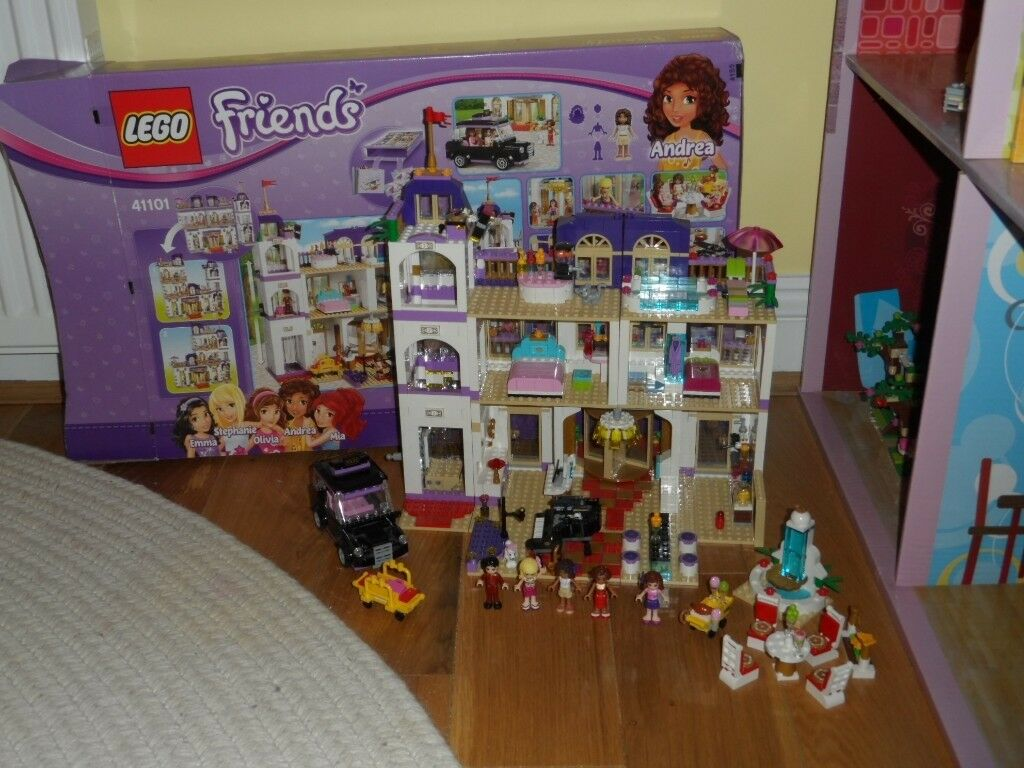 Complete Lego 41101 Friends Heartlake Grand Hotel Instructions