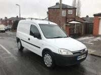 2007 Vauxhall Combo van superb condition service bills full MOT low mileage side loading door