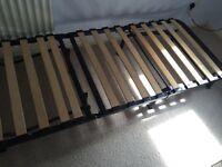 Fold away space saving single bed