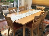 Living and Dining Set. Excellent Condition. Solid Wood..