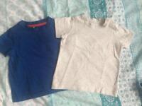 2X Boys T-Shirts 9-12 Months